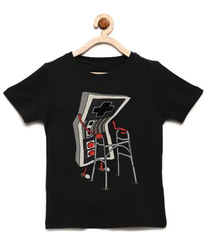 Camiseta Infantil Old- Loja Nerd e Geek - Presentes Criativos