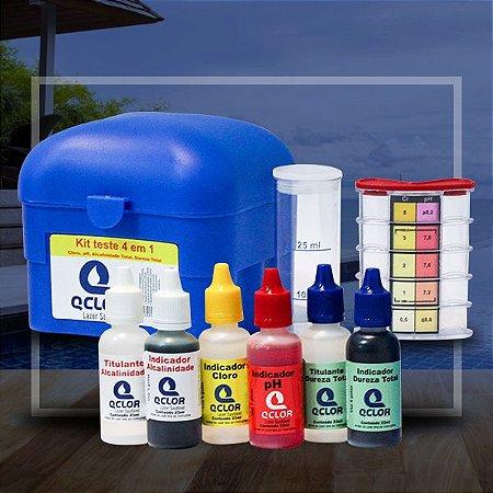Q Clor Kit Teste 4 em 1