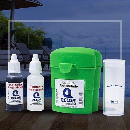 Q Clor Kit Teste de Alcalinidade