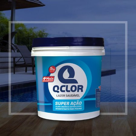 Q Clor Super Ação - 5KG