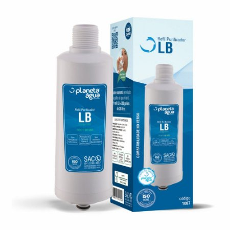 Refil LB para Purificador Libell Aqua Flex e Press Baby e Press Side