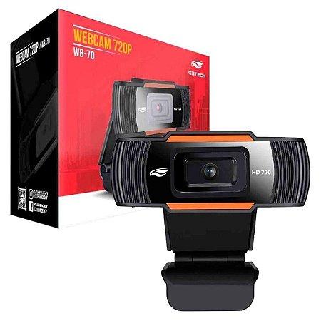 Webcam  WB-70BK HD - C3TECH