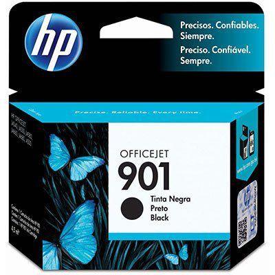 HP901 - Preto 4,5ml - Original (CC653AB)