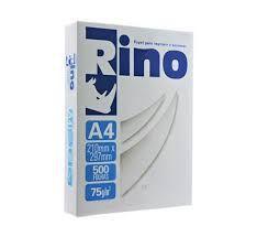 Papel A4 Sulfite Rino 210mm x 297mm 75g Pacote com 500 folhas