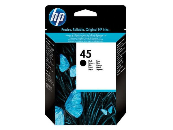 51645AL - Preto 42ml - Original (HP45)