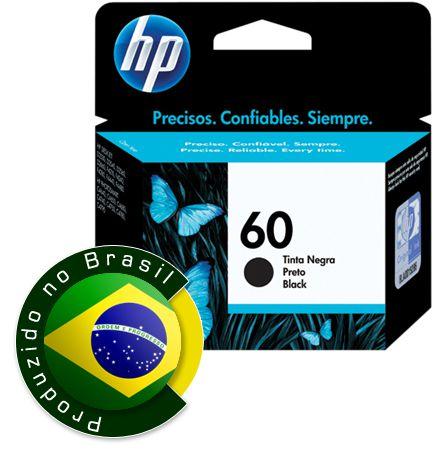 CC640WD - Preto 4,5ml - Original (HP60)