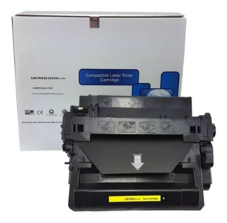 CE255X - 12500 Páginas - Compatível - (55X) - Chinamate