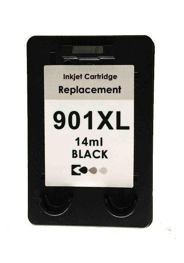 CR901BLU - Preto 14ml - Compatível MicroJet - (HP901)