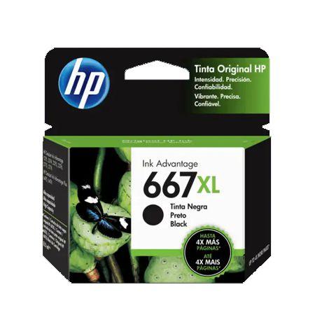 3ym81al - Preto 8,5ml - Original (HP667 XL)