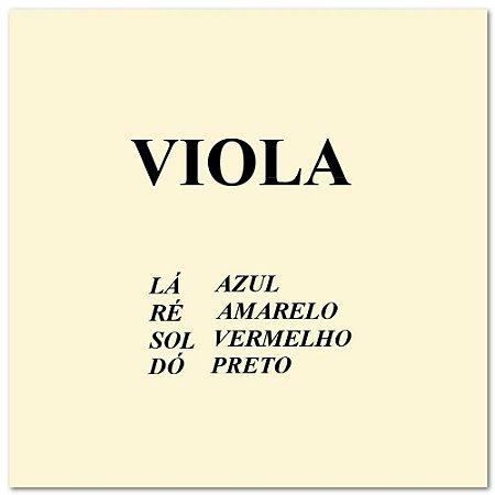 Encordoamento Mauro Calixto viola de Arco