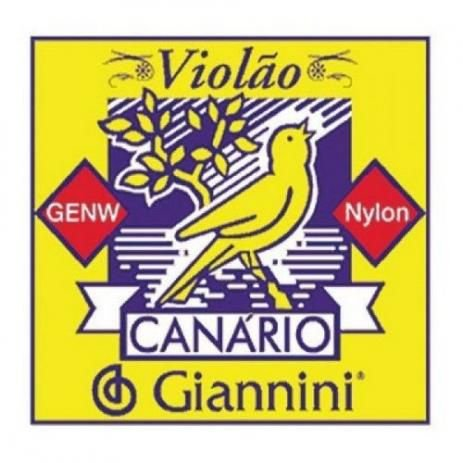 Encordoamento violão Nylon canario Giannini
