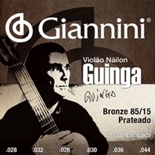 Encordoamento Nylon Violão Guinga Giannini