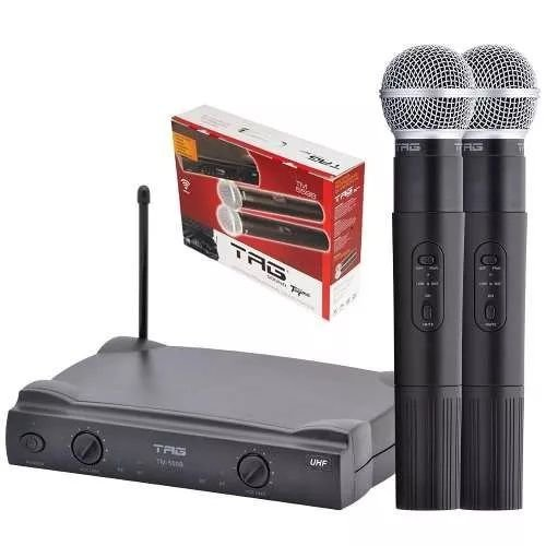 Microfone S/ Fio TM 559B Tagima