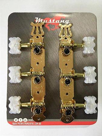 Tarraxa Violão Coletiva 3+3 Mustang PHX