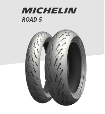 Pneu Michelin Pilot Road 5 120/70 R17