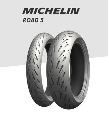 Pneu Michelin Pilot Road 5 190/50 R17 73W