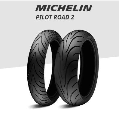 Pneu Michelin 180/55 R17 Pilot Road 2