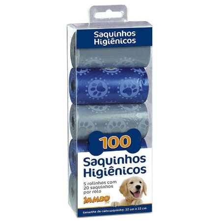 REFIL SACOLAS 5 ROLOS LUXO BOY