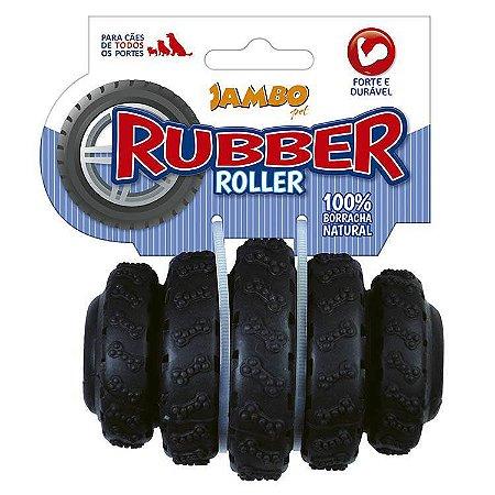 RUBBER ROLLER MEDIO PRETO