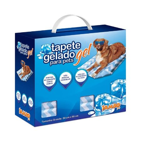 TAPETE GELADO NEW COOL STRIP GRANDE 50X90