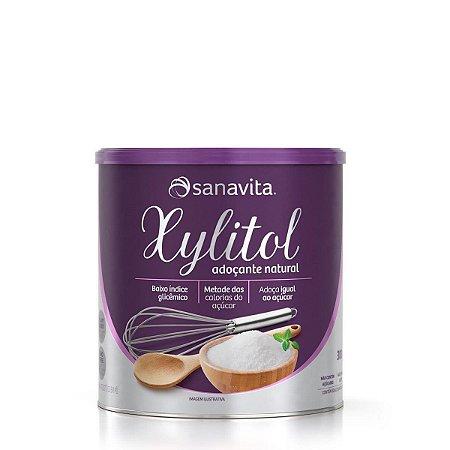 Adoçante Natural Sanavita Xylitol 300g