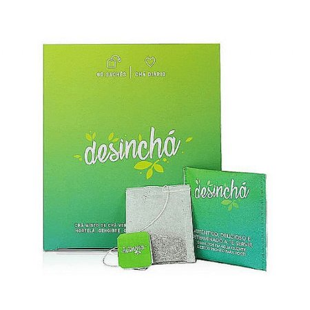 CHÁ NATURAL C/60 SACHET - DESINCHA