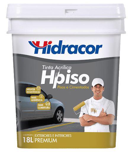 TINTA HPISO PRETO BD 18L HIDRACOR
