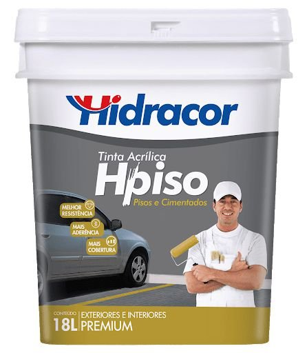 TINTA HPISO VERMELHO SEGURANÇA BD 18L HIDRACOR