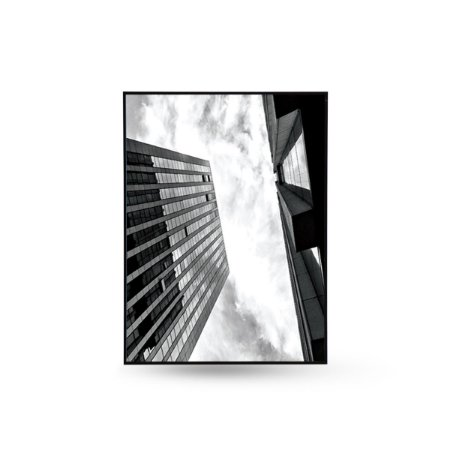 QUADRO 0,29x0,39cm PRÉDIOS N. PERSPECTIVA B 10924B AKAZZA