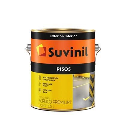 TINTA PISO CINZA FOSCO 3,6L SUVINIL
