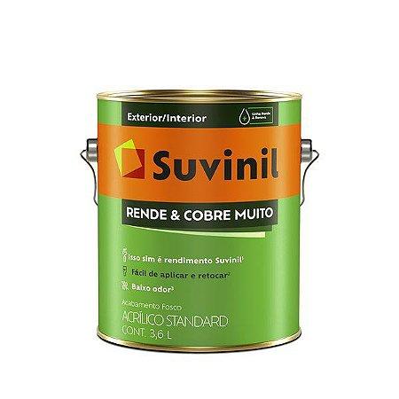RENDE E COBRE MUITO CONCRETO FOSCO 3,6L SUVINIL
