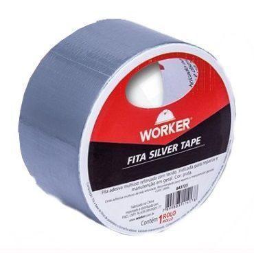 FITA SILVER TAPE 45X5M 843725 WORKER