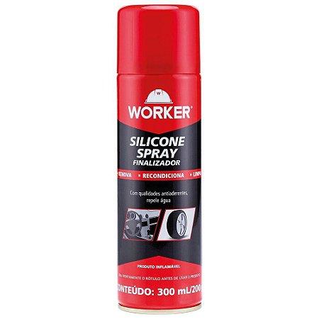 SILICONE SPRAY 300ML/200G 47686 WORKER