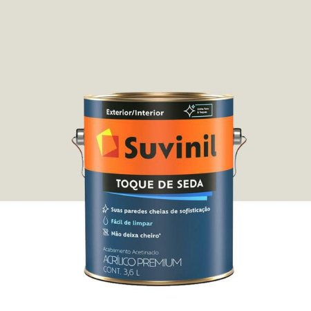 TINTA TOQUE SEDA ACETINADO NEVE 3,6L SUVINIL