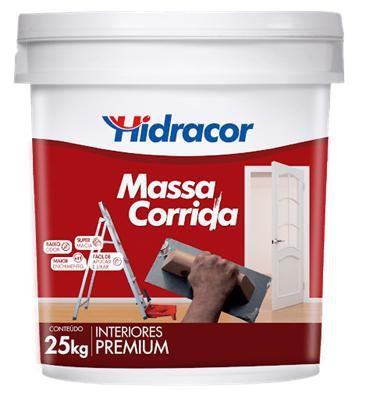 MASSA CORRIDA 25KG HIDRACOR