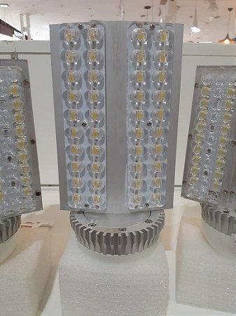 LAMPADA STREET LED 80W E40 4000K AMARELA BIVOLT