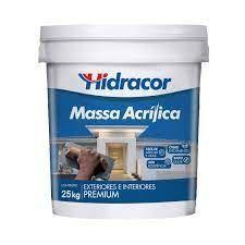 MASSA ACRILICA 25KG HIDRACOR