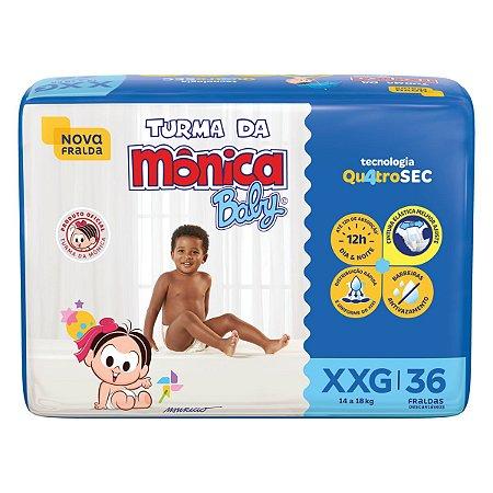 Fralda Turma da Mônica Baby Mega XXG