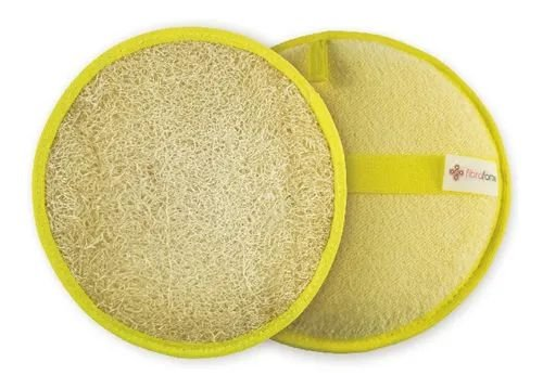 Bucha Vegetal Luxo Confort Amarelo Fibra Forte Revenda