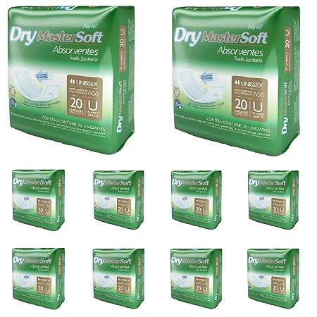 200 Absorventes Geriátrico Dry Economics 10 Pacotes Promoção Atacado