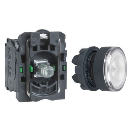 BOTAO 22MM LUMINOSO LED 24VCA/CC 2NA BC
