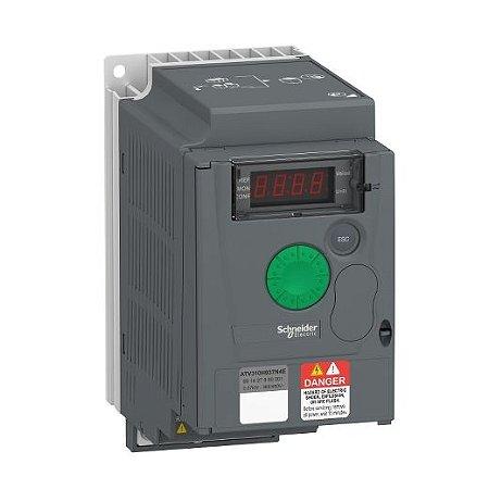 INVERSOR FREQ. ATV310 TRIF. 380-440VCA     0,50CV     1,50A S/FILTRO