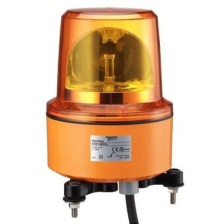FAROL ROTATIVO 130MM LAMP. LED 24VCA/VCC IP67 LJ