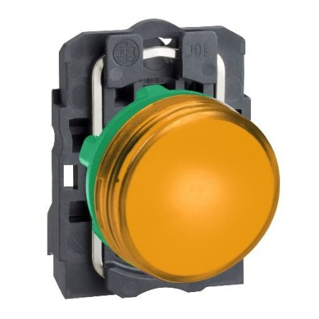 SINALIZADOR 22MM PLASTICO C/LED 24VCA/CC AM
