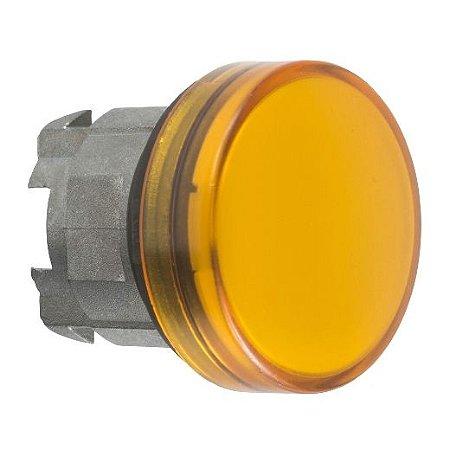 FRONTAL SINALEIRO METAL 22MM REDONDO P/LAMP. BA9S AM