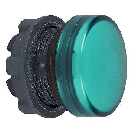 FRONTAL SINALEIRO PLAST. 22MM REDONDO P/LAMP. BA9S VD