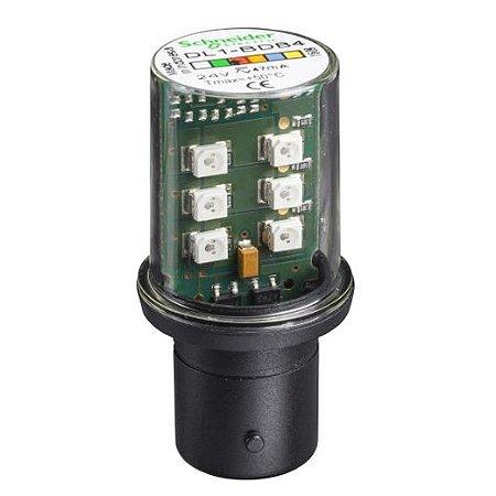 LAMP. LED 24VCA/VCC BA15D VM