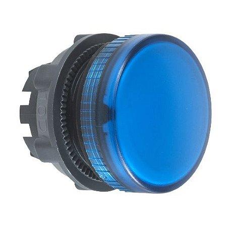 FRONTAL SINALEIRO PLAST. 22MM REDONDO P/LAMP. BA9S AZ