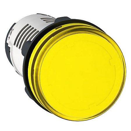 SINALEIRO PLAST. 22MM REDONDO C/LED 220V AM ECON.