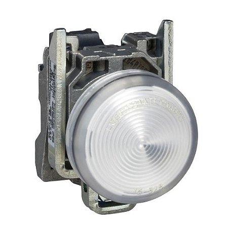 SINALEIRO METAL 22MM REDONDO C/LED 220V BC